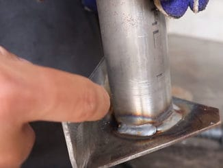 How To MIG Weld In Tight Spaces and Corners