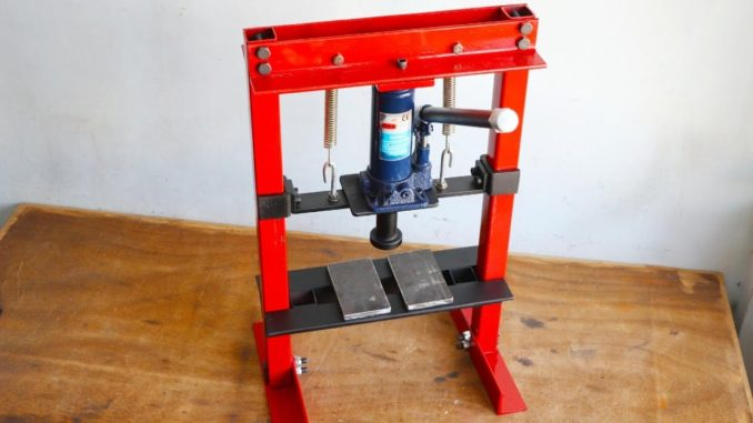 How To Make a Hydraulic Press with No Welding