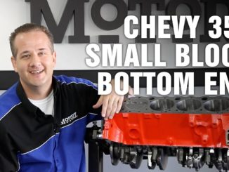 How To Rebuild Bottom End ~ Chevy 350 Small Block Engine