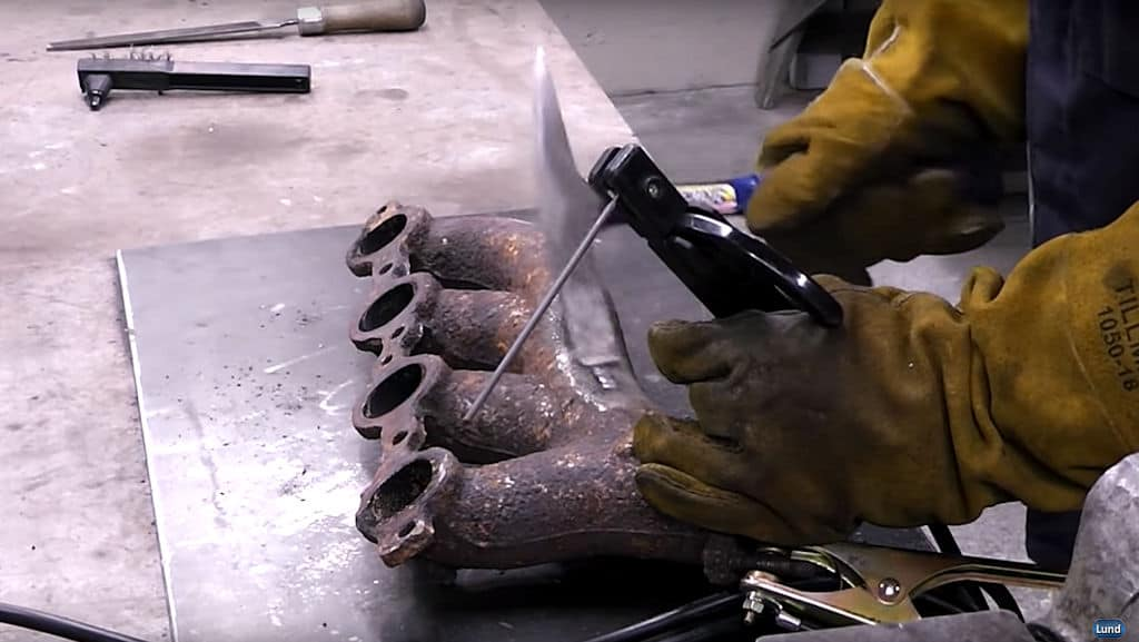 How To Repair Cast Iron Stick Welding With Muggy Weld