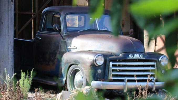 ICON Derelict ~ 1949 GMC Long Bed