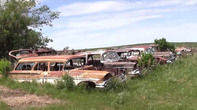 Junk Yard Tour ~ Martell's Salvage, North Dakota