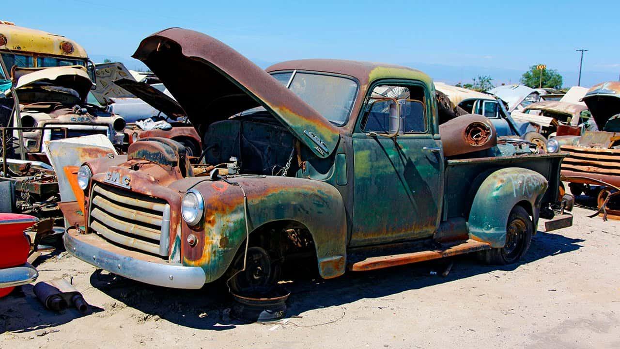 Junkyard Rescue Saving A 1950 Gmc Truck Roadkill Show