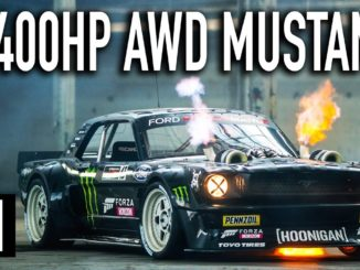 Ken Block's 1,400hp AWD Ford Mustang