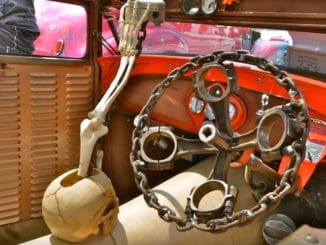 Rat Rod Steering Wheel and Shift Knob Ideas