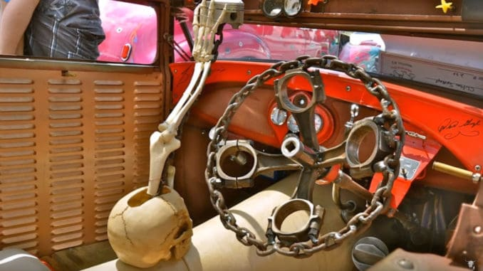 Rat Rod Steering Wheel and Shift Knob Ideas