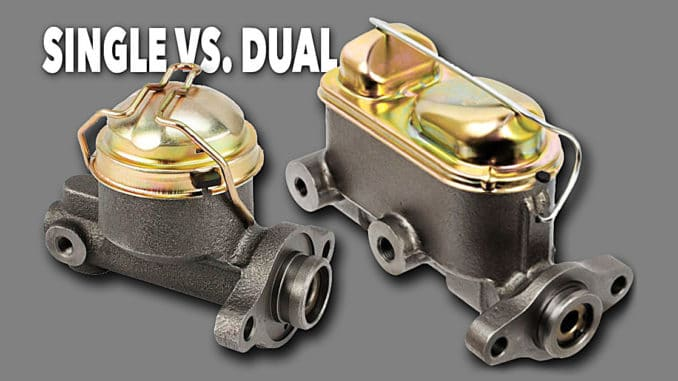 Single vs. Dual Reservoir Master Cylinders
