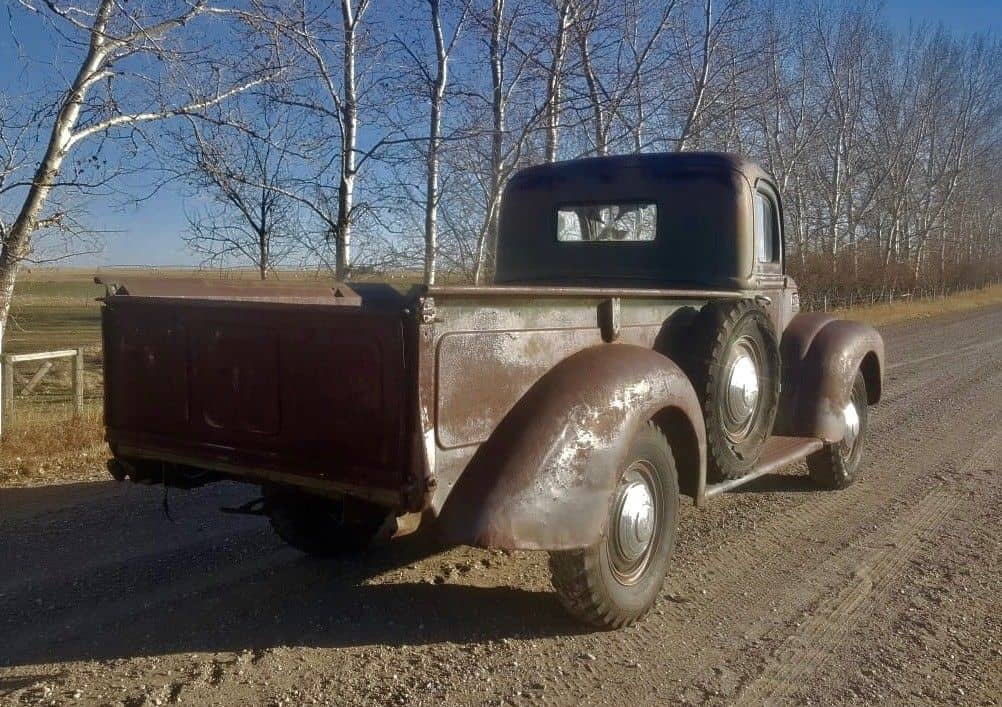 Survivor: 1946 Mercury Pickup