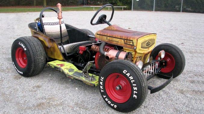 The Diesel Weasel Mow-Cart