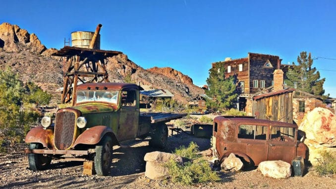 The Rusty Classics of Nelson's Ghost Town ~ Eldorado Canyon, Nevada