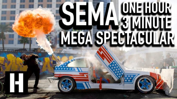 The SEMA One Hour Mega Spectacular