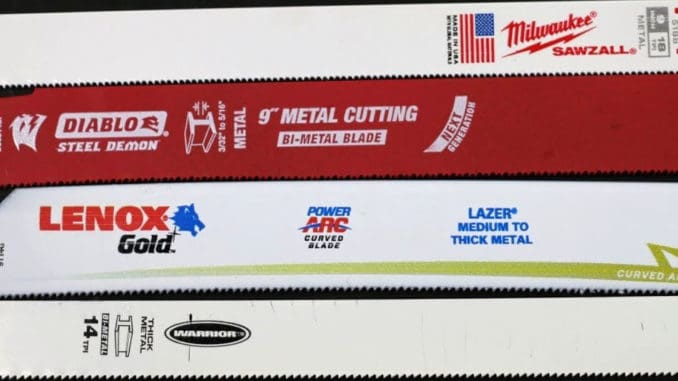 Which Bi-Metal Sawzall Blade Is Best?