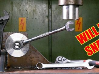 Which is the Strongest Wrench Type - Hydraulic Press Test