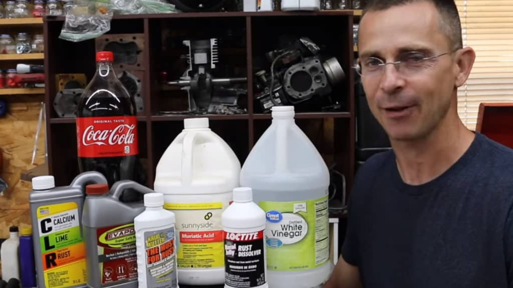 Which retail rust remover is best?
