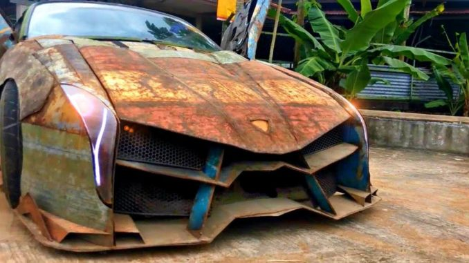 10 Weird, Extreme and Amazing Home-Built Vehicles