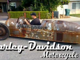 1918 Harley Davidson 3-Wheel Cyclecar