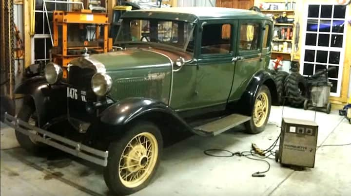 1931 Ford Four Door Cummins Project ~ Before