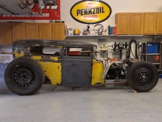 1931 Ford Model A Sedan Hot Rod Build