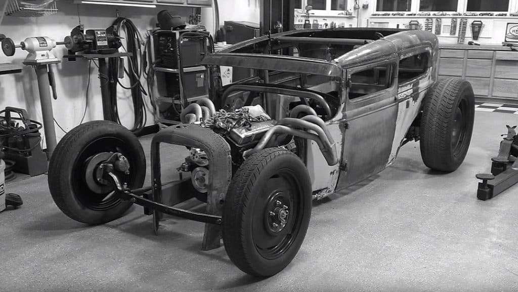 1931 Ford Model A Sedan Hot Rod Build ~ In Progress