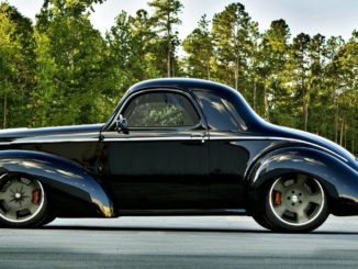 1941 Willys Americar Coupe Pro-Touring Build
