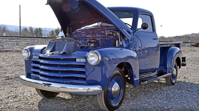 1948 Chevrolet 3100 Thriftmaster Restoration Project