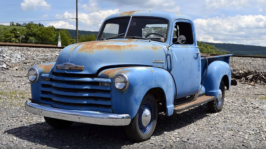 1948 Chevrolet 3100 Thriftmaster Restoration Project ~ Before