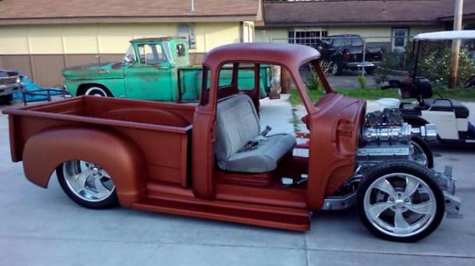 1955 Chevrolet First Series Pickup Truck Build