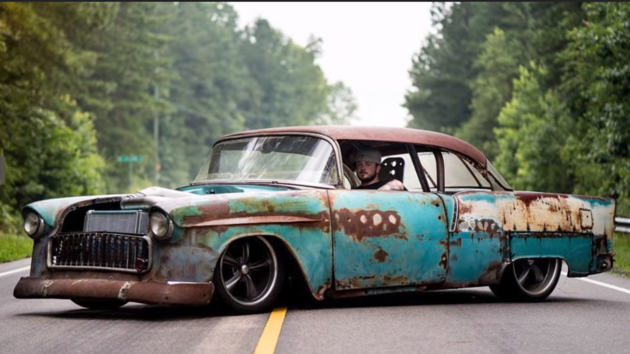 1955 Chevy Bel Air Coupe