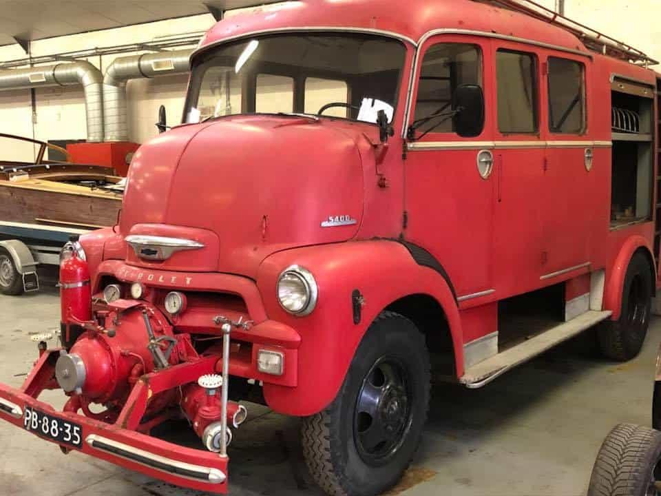 1955 Chevrolet 5400 COE Ex-Fire Truck
