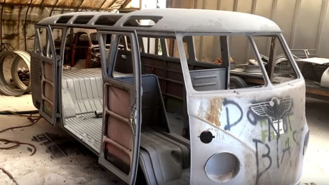 1963 Volkswagen 23 Window Bus Body-Off Restoration