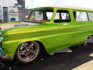 1966 Chevrolet C10 Suburban Pro-Touring Truck Build