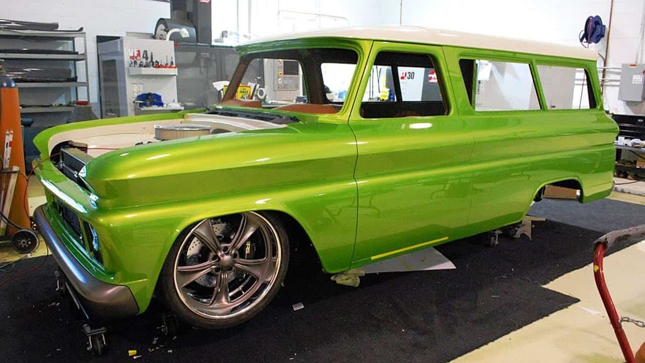 1966 Chevrolet C10 Suburban Pro Touring Truck Build