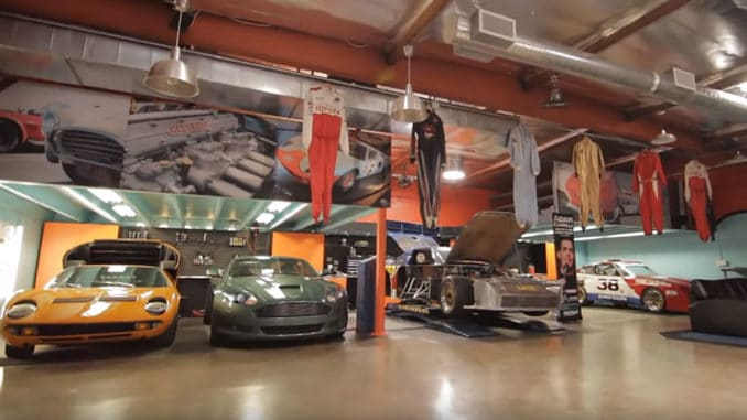 Adam Carolla's Private Garage