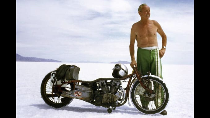 Burt Munro - Offerings to the God of Speed