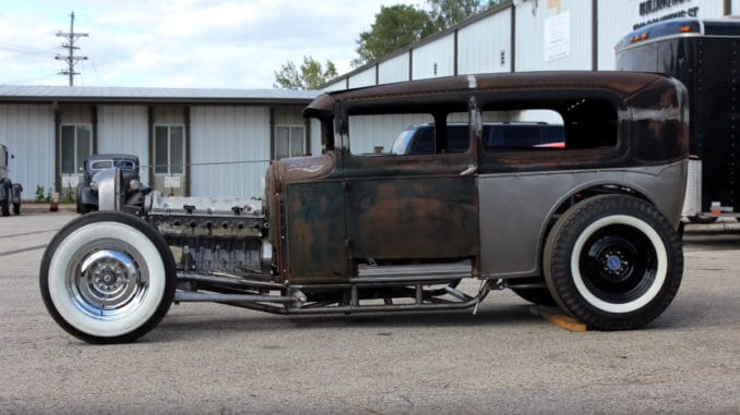 Chris Rusch's 1930 Sedan Hot Rod Build