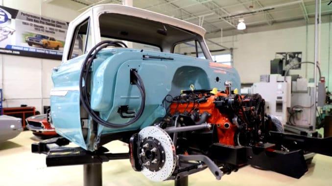 Custom Chevrolet C10 Build