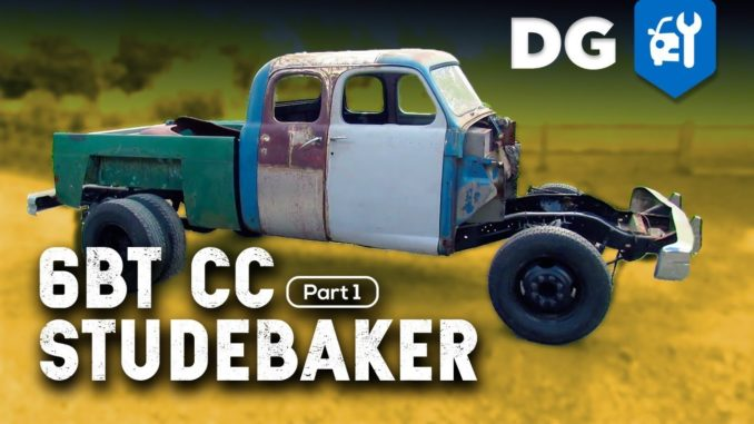 Custom Extended Cab 5.9 Cummins Diesel Powered Studebaker Transtar