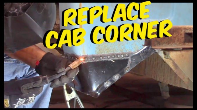 DIY Cab Corner Replacement on a Chevy C10