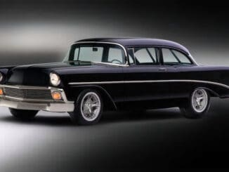 George Poteet's 1956 Chevy Two-Door Sedan