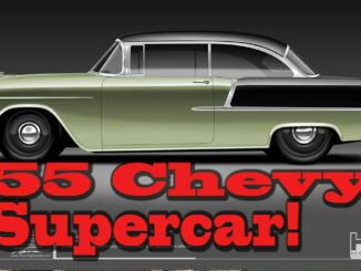 How To Build a 1955 Chevy Bel Air Supercar with NREs Tom Nelson
