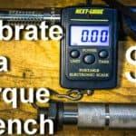How To Calibrate a Torque Wrench with a $5 Luggage Scale