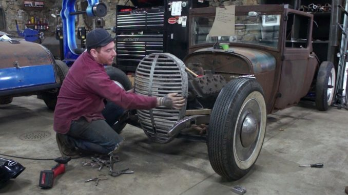 How To Chop a 1938-39 Ford Truck Grill to Fit a Hot Rod Model A