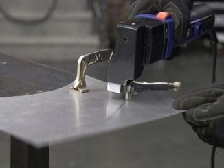 How To Cut Sheet Metal With Ease ~ Eastwood's Electric Throatless Shear