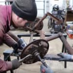 How To Disassemble An Early Ford Straight Axle with Stuck Rusty Bolts