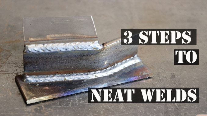 How To Get Neat MIG Welds In 3 Steps