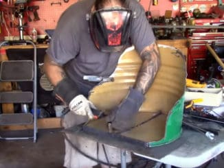 How To Make Bucket Seats Out Of A 55 Gallon Drum