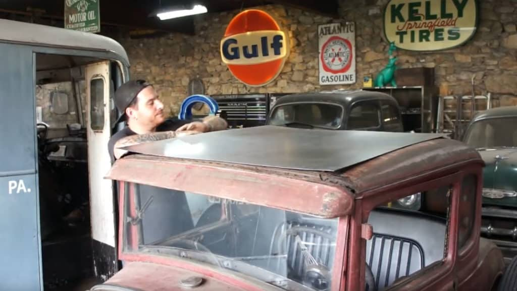 How To Make a Metal Roof Insert for a Ford Model A Coupe