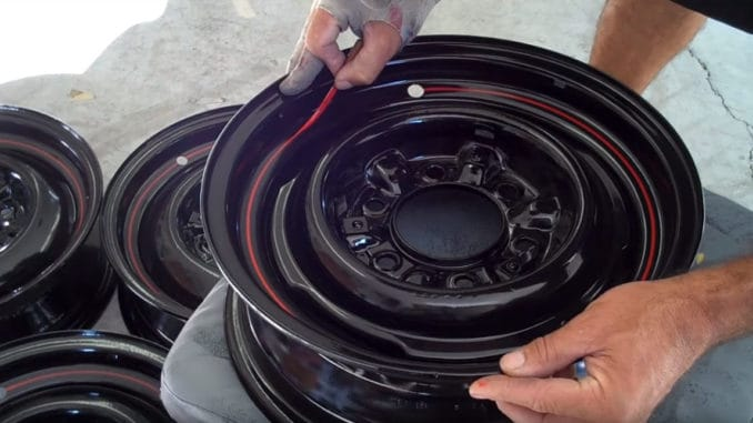 How To Pinstripe Wheels