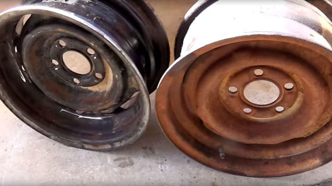 How To Reverse Steel Wheels