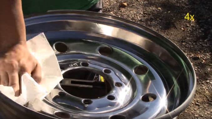 How To Sand and Polish Steel Wheels to a Mirror Finish